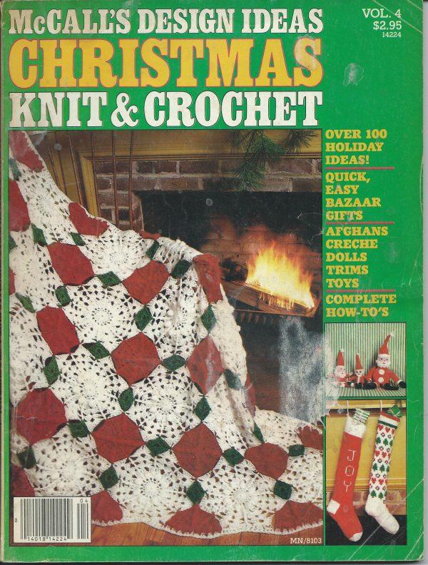 Mccalls Design Ideas Christmas Knit & Crochet patterns
