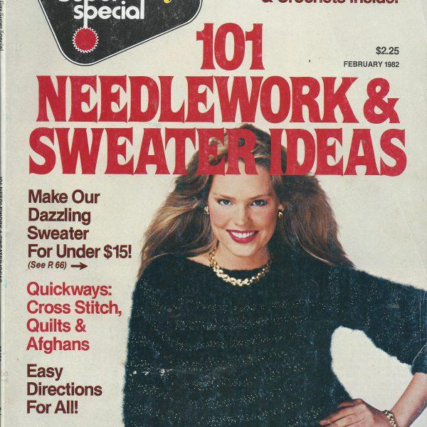 101 Needlework & sweaters Feb 1982