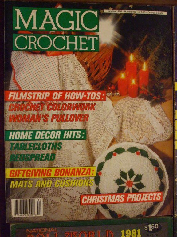 Magic crochet magazines 1990's