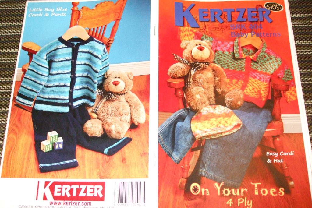 Kertzer Knitting patterns 404 Baby Patterns 4 ply Cardigan hat dress ...