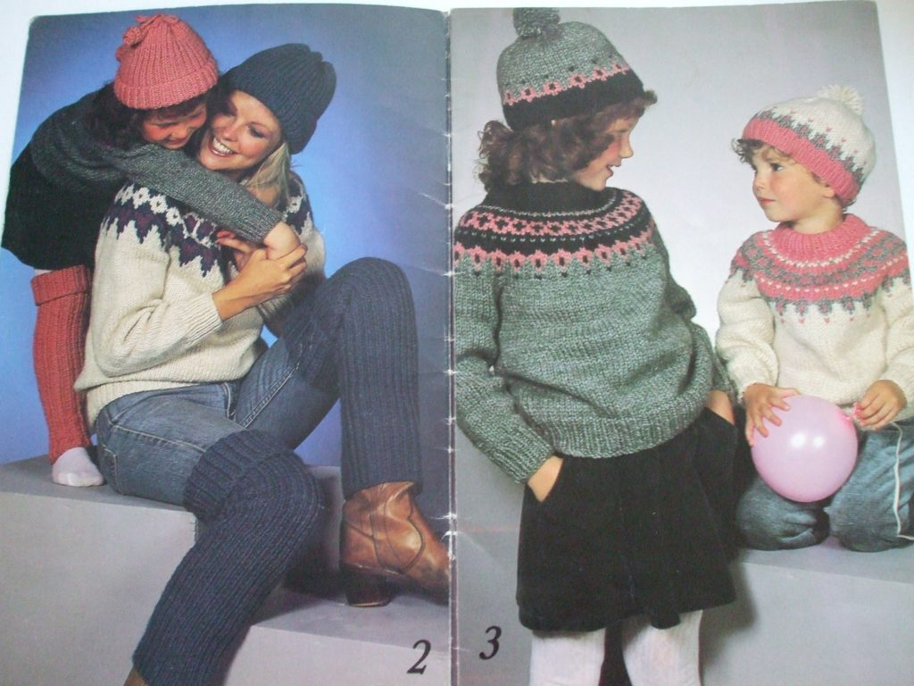 440 Nordic Knits knitting patterns men women shetland style chunky ...