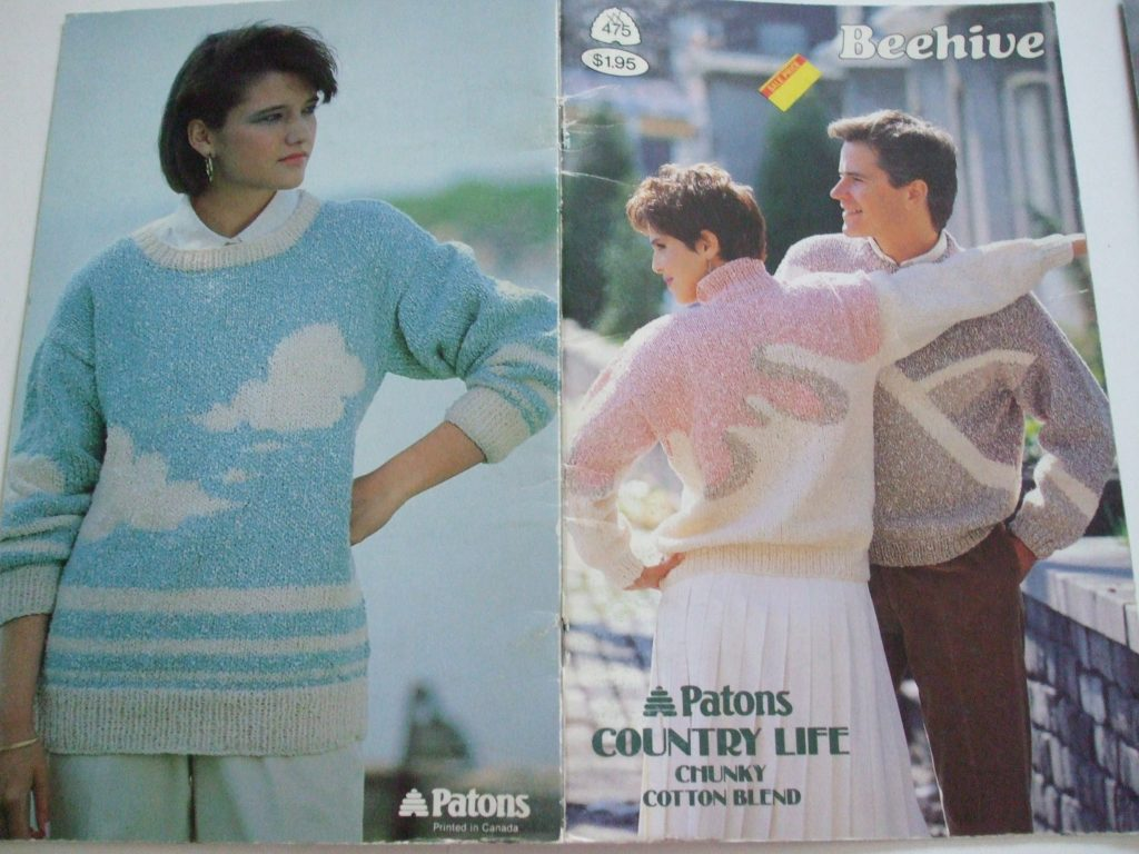 475 Country Life Chunky Knitting Patterns Patons Men Women Cardigan