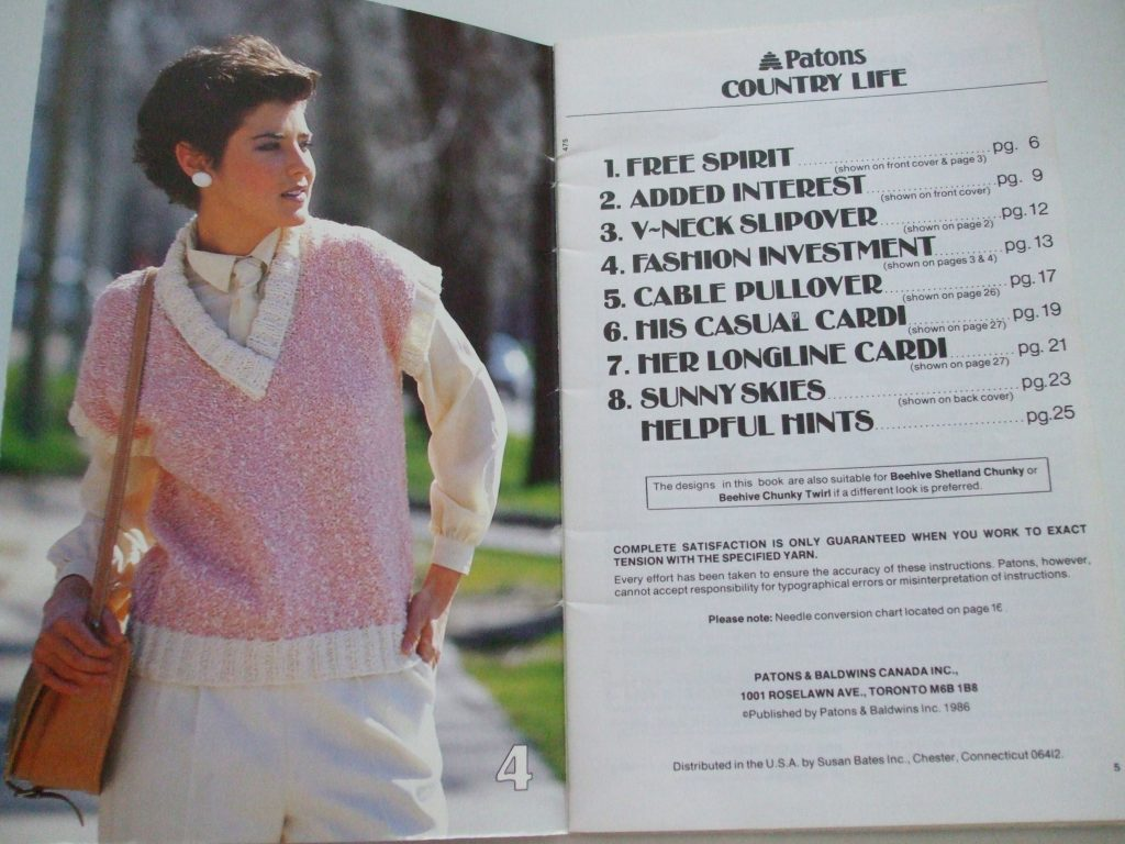 475 country life chunky knitting patterns patons men women cardigan ...