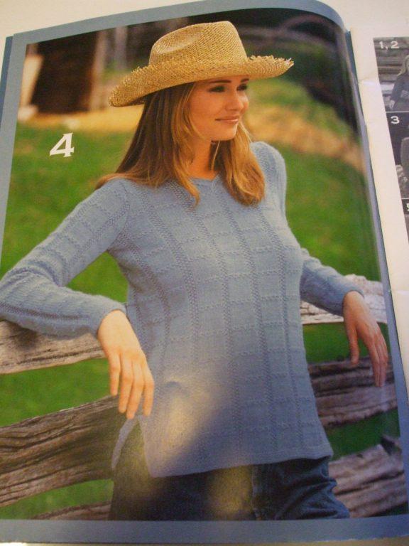 500993 Patons Classics Indigo Days knitting patterns Sweaters Afghan ...