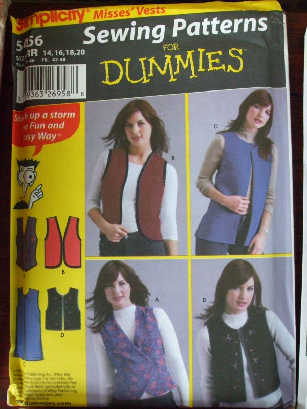 5456 Sewing for Dummies