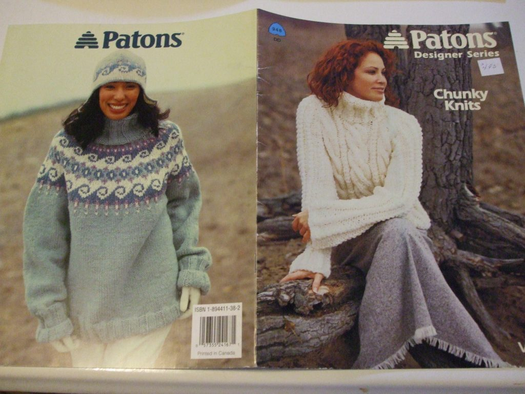 948 Patons Designer Series Chunky Knitting patterns Vol 2 women ...