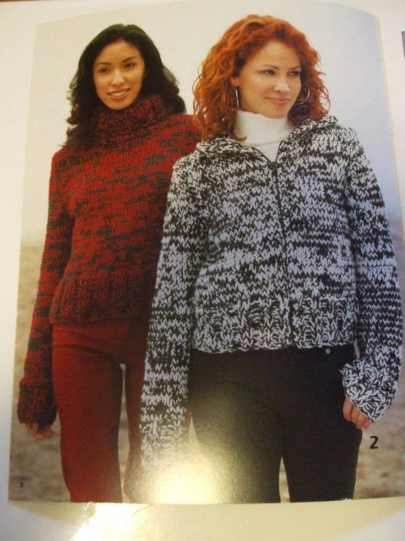 948 Patons Designer Series Chunky Knitting Patterns Vol 2 Women