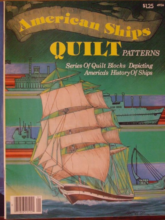 American Ships Quilt Patterns 1977 Mayflower