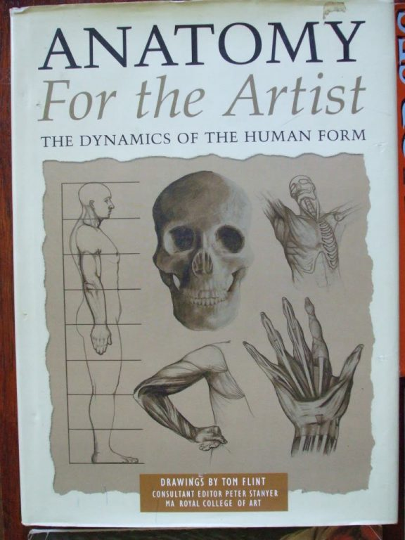 Anatomy For The Artist Book 2002 Drawing Painting Secondsilver
