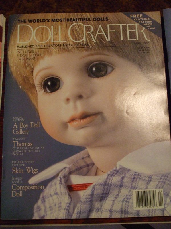 April 1990 Doll crafter magazine