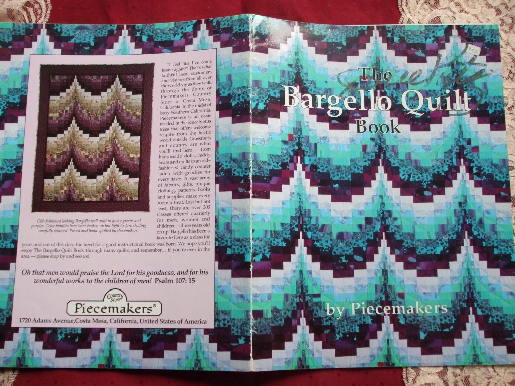 The Bargello Quilt Book by Piecemakers 1992 – SecondSilver ... : bargello quilt book - Adamdwight.com