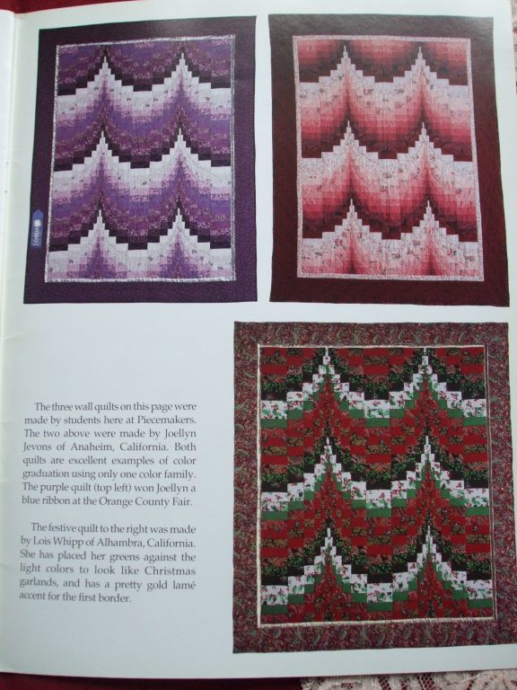 The Bargello Quilt Book by the Piecemakers 1992 – SecondSilver : bargello quilt book - Adamdwight.com