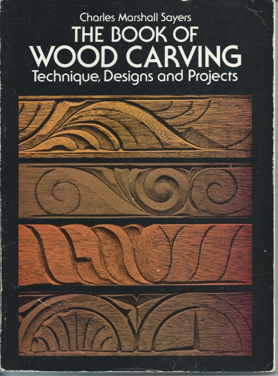 book of wood carving book projects designs original 1942 reprint 1978  woodworking