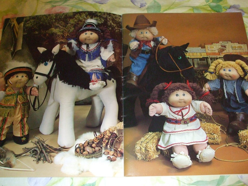 Cabbage patch kids doll clothes pony western wear 12 sewing western wear 12 sewing patterns 7810 2400 jeuxipadfo Images
