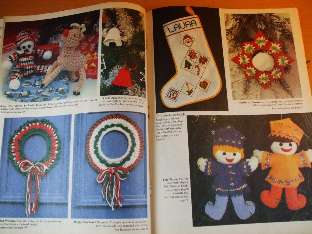 Christmas Bazaar Crochet Santa Doll 50 Patterns more 1986 ...