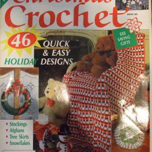 Christmas Crochet Favorite Classics Annual Pattern magazine Winter 1993