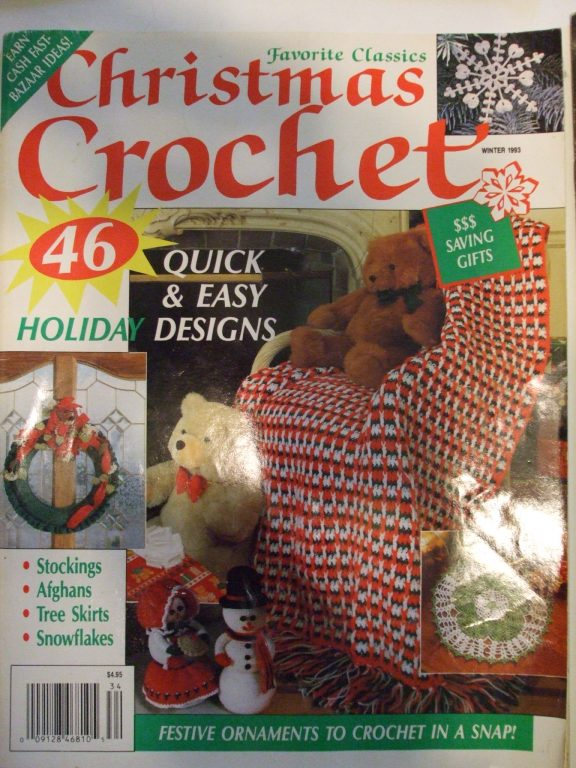 Christmas Crochet Favorite Classics Annual Pattern magazine Winter 1993