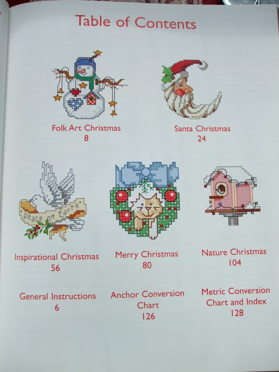 Christmas Cross Stitch Designs 555 Patterns Donna Koolers