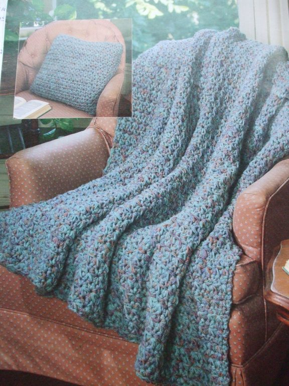 Crochet Afghans 12 Patterns Red Heart 2867 Prices Us Incl Ship