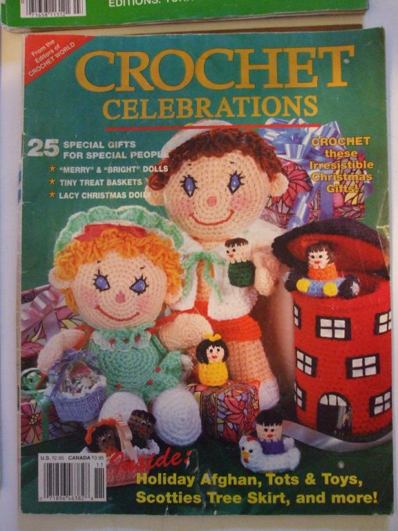 Crochet Celebrations pattern magazine 1990, 62 pages