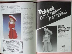 Dec 1990 pattern Doll Crafter