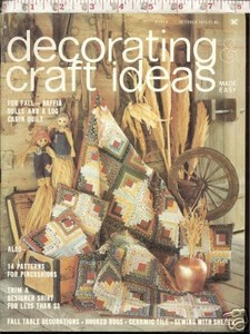 Decorating Craft Ideas October 1975 Quilts Raffia Dolls