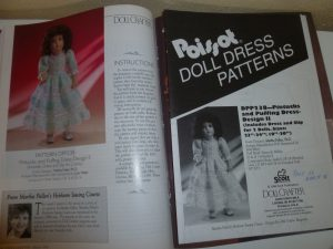 March 1996 Doll Crafter Magazine DPP238 Pattern for a 19-24 Doll