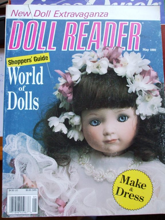 Doll reader magazine May 1991
