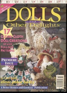 Doll making magazine sets