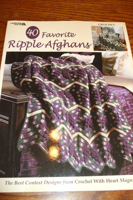 Favorite ripple afghans 40 crochet patterns leisure arts crochet patterns leisure arts crochet with heart magazine 4000 bankloansurffo Choice Image