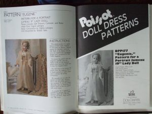Feb 1991 pattern Doll Crafter