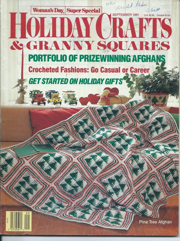 Holiday Crafts & Granny Squares September 1991