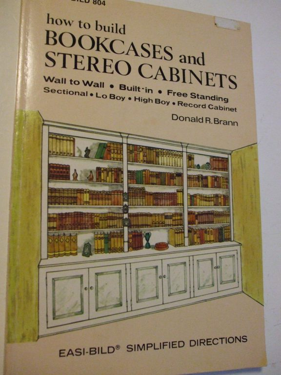 How To Build Bookcases Amp Stereo Cabinets Easi Bild 804