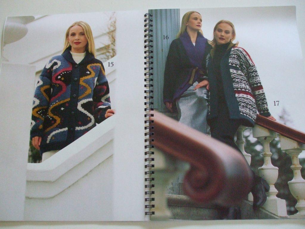 Istex #14 Icelandic Lopi knitting patterns hooded cardigan jacket ...
