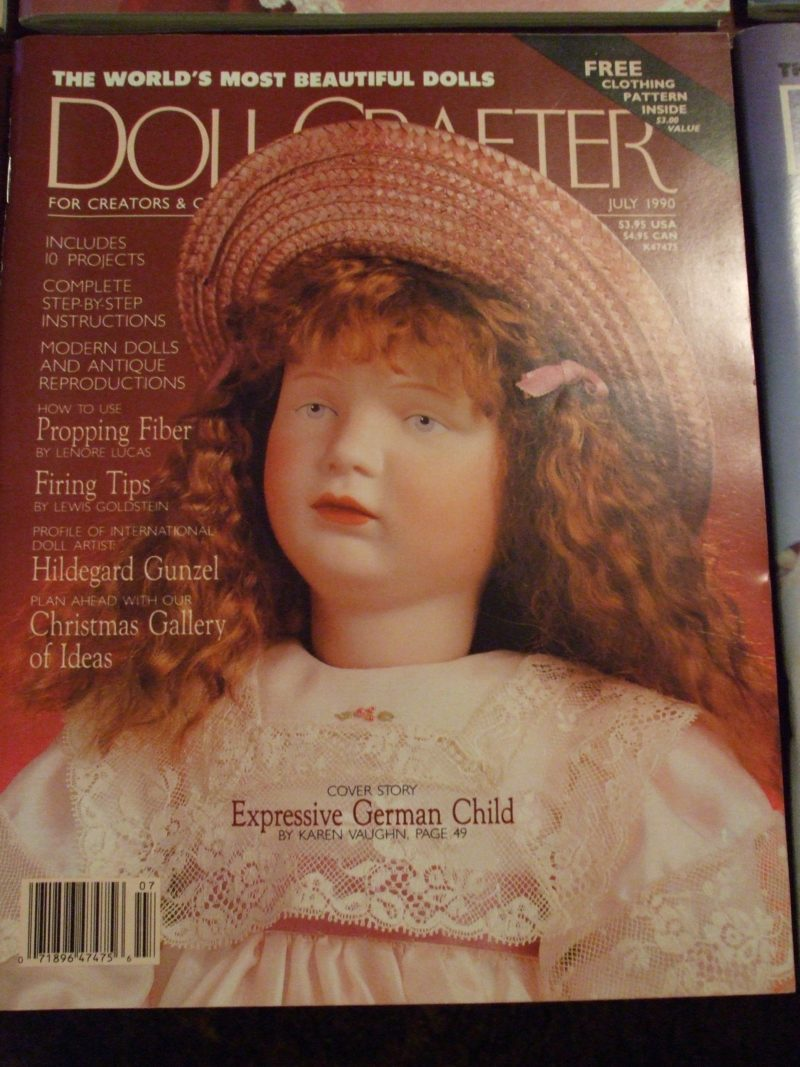 July 1990 Doll Crafter