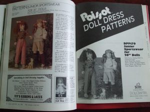 July 1990 pattern Doll Crafter