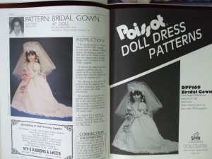 June 1990 pattern Doll Crafter