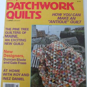 Ladys Circle patchwork Quilts No 16 1979