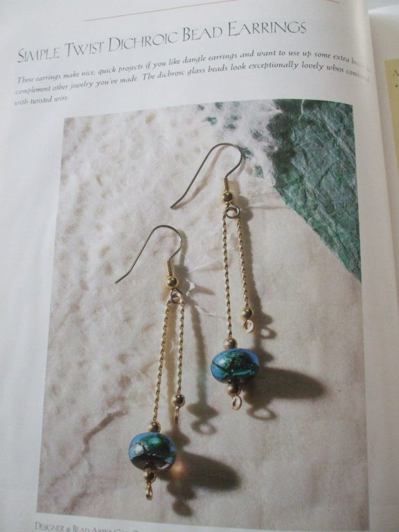 Making Bead Wire Jewelry book Dawn Cusick Simple Techniques Stunning ...