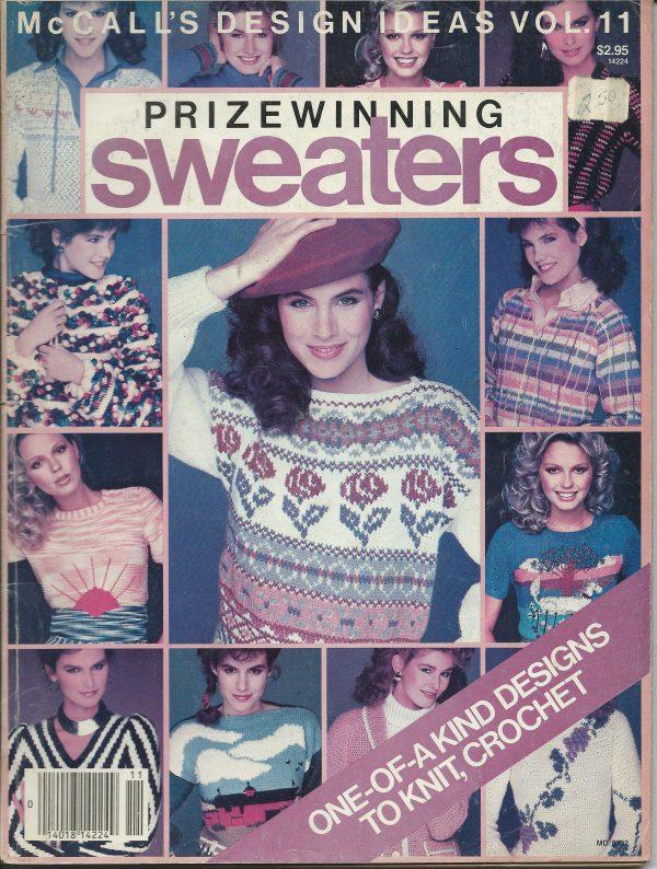 McCalls Design Ideas Volume 11 Vintage Prizewinning Sweaters to
