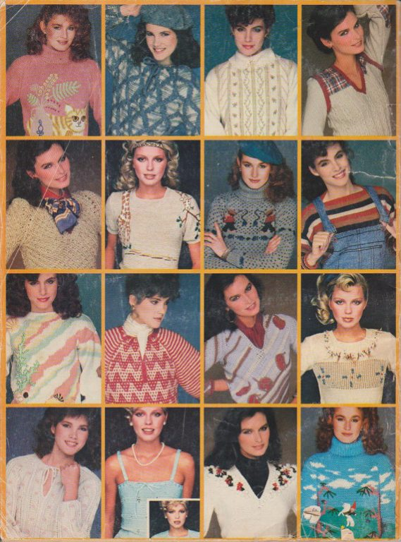 McCalls Design Ideas Volume 11 Vintage Prizewinning Sweaters to Knit and Crochet b