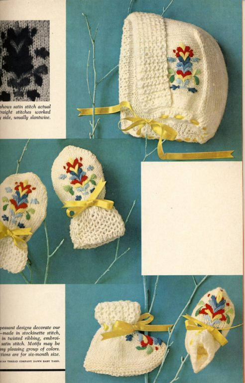 Mccalls Knitting Step By Step Instructions For Beginners Book 2 1966