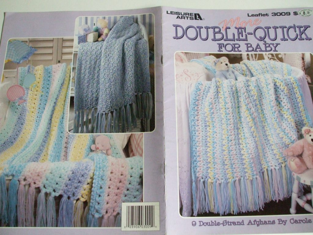 More Double strand afghans Quick for baby Crochet patterns Leisure ...