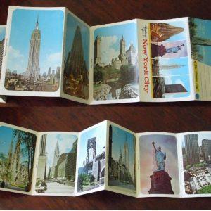 NY postcards