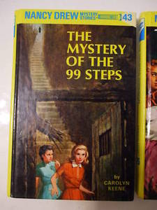 the mystery of the 99 steps book report Nancy looks for a flight of the 99 steps to solve the mystery of a friend's hardcover 0448095432 hardback mystery book club near fine/pictorial cover.
