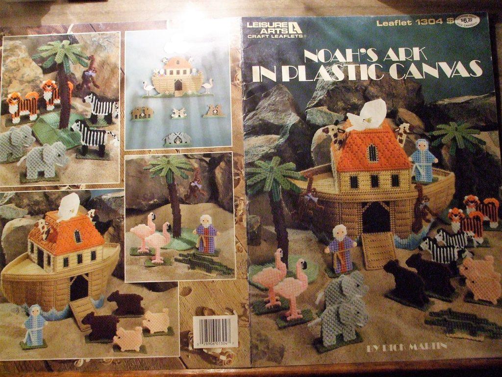 Noahs Ark in Plastic Canvas