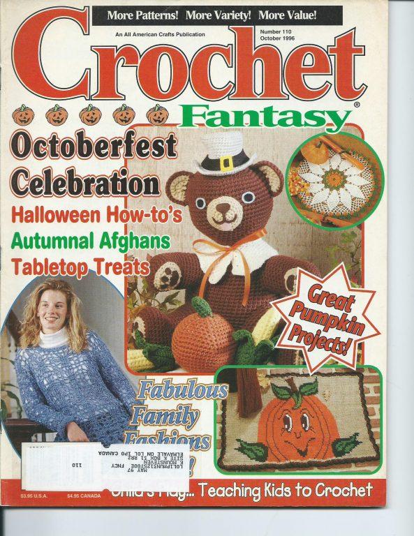 Crochet Fantasy Magazine vintage back issues 1990 - 2000