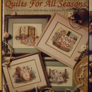 Paula Vaughan Quilts For All Seasons Cross Stitch Patterns