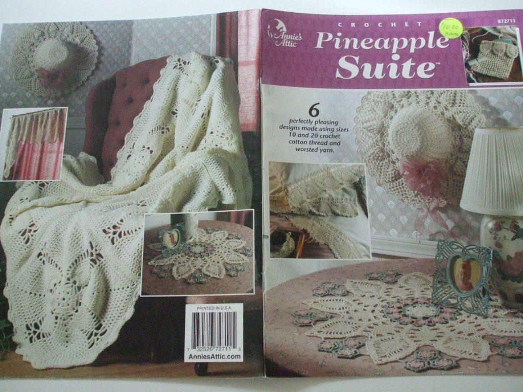 Pineapple Suite Doilies 6 Designs Crochet Patterns Annies Attic