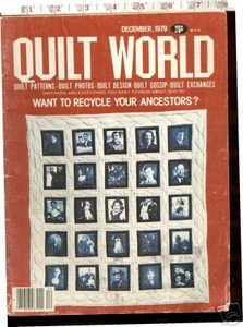 Quilt world magazine December 1979 patterns designs